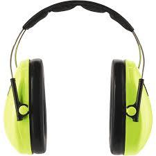 Kapselgehörschutz Kinder Neongrün Arbeitsschutz Landi