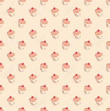 cake pattern wallpaper. Modren Pattern Imagens  Seamless Vector Pattern Or Texture With Little Cherry Cupcakes  Hand Drawn Muffins And Sweet Cake Dessert Background Sweets For Desktop  To Cake Pattern Wallpaper