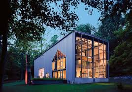 Bunny Lane recycled shipping containers House by Adam Kalkin