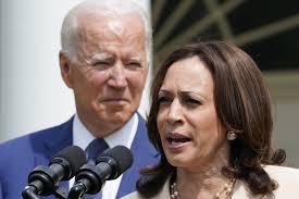 Biden, Harris approval ratings dip in new California poll - Los Angeles  Times