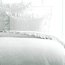 black and white striped bedding gray and white striped bedding ticking stripe bedding black ticking stripe