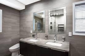 modern bathroom remodel in richmond va