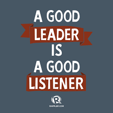 Good Leader Quotes Gorgeous A Good Leader Is A Good Listener Motivacioni Citati