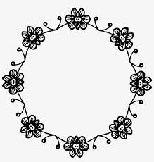 Circle Border Vector Library Big Image Png Flower Circle Border Clipart
