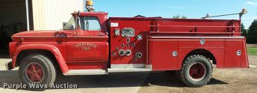 1962 Chevrolet C6500 fire truck | Item J5444 | SOLD! August ...