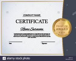Certificate Template Background Award Diploma Design Blank