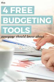 4 Free Budgeting Tools Everyone Should Know About The Budget Mom