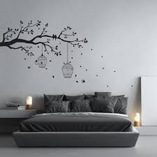 removable tree branch wall sticker with