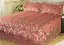 rose gold duvet set