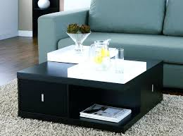 square coffee table with storage popular of modern square coffee table modern square black storage coffee