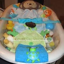 inside the monkey bathtub with supplies