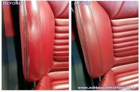 how to fix hole in leather seat medium size of how to repair a small hole