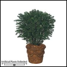 outdoor artificial taxus yew