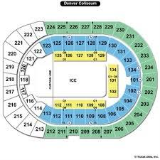 Denver Coliseum Seating Chart Rodeo Denver Coliseum Schedule