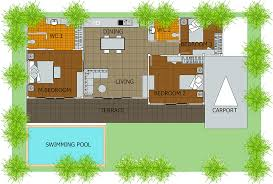 house floor plan with swimming pool fresh luxury idea 6 inground pools with house plans 15