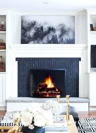 tile fireplace herringbone tile fireplace surround fireplace tile ideas craftsman