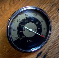 deadly curves one offs the reverse stewart warner tachometer and naturally that means that the 70 is the top speed indicator which doesn t rule out boats but the lower rpm s make it unlikely