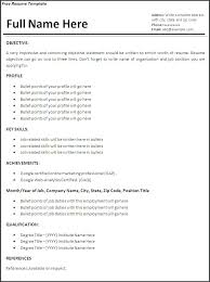 How To Create Resume For Job