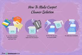 the homemade carpet cleaner recipe