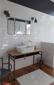 chic industrial bathroom vanity ideas