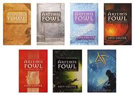 9781121221550 artemis fowl plete series set books 1 7 artemis fowl the