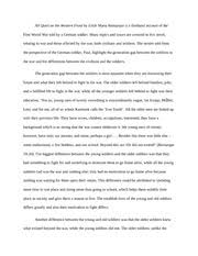 essay on all quiet on the western front movie all quiet on the western front essays
