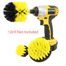 3 pcs/set <b>Power Scrubber Brush Drill</b> Cleaning Brush for Car ...