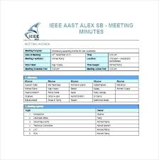 Meeting Summary Sample Writing Meeting Minutes Template Sample Summary Free For A 7