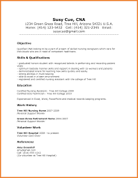5 6 Cna Resumes Objectives Imageresume