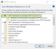 how to install net framework 3 5 on