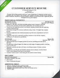 Skills For Customer Service Resume Ceciliaekici Com