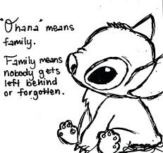 Stitch Coloring Pages Ohana