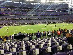 U S Bank Stadium Section 112 Home Of Minnesota Vikings