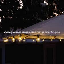 g40 bulbs outdoor string lights 110v