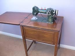 Old Sewing Machine Desk