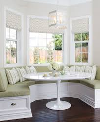 Dining Room Bench Seating Curved Bench Seating In Dining Room Traditional With Breakfast