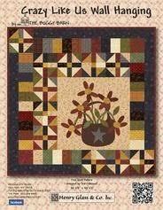 WashTub Quilts | Free Quilt Patterns & Crazy Like Us Free Wall Hanging Pattern Crazy Like Us free quilt pattern Adamdwight.com