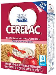 Nestle Cerelac Stage 2 Wheat Apple Cherry 300g