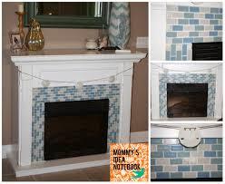 Tile Fireplace Makeover Dunham Design Company Coastal Fireplace Makeover