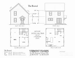 24 x 32 2 story house plans elegant post beam home in vt entrancing floor plan
