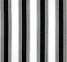 Small Picture Coral Stripe Fabric Designer Cotton Coastal Fabric Drapery Fabric