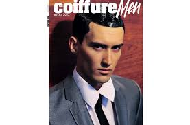 Name Management Russia Cover Magazine Alex L Art Coiffure Men
