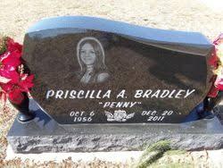 """Priscilla Ann """"Penny"""" Bradley (1956-2011) - Find A Grave Memorial"""