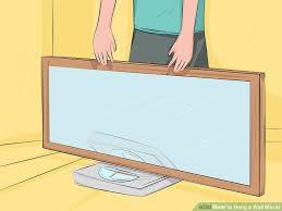 image titled hang a wall mirror step 2