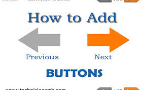 How to add Previous / Next Navigation Buttons in your post