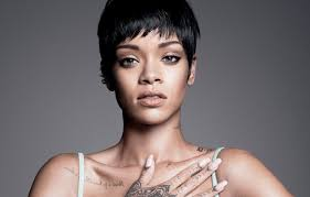 обои тату певица Rihanna знаменитость татуировки рианна