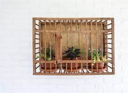 From wreaths to gnomes to metal flowers, your at home store is sure to have outdoor wall decor that matches your style. Vintage Chicken Crate Outdoor Wall Decor