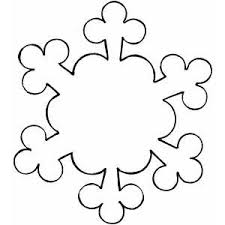 Blank Snowflake Template Snowflake Outline Clipart Free Download Best Snowflake