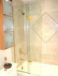 tub shower doors glass frameless bi fold shower doors frameless sliding glass bathtub doors