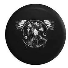 Indian Chief Dream Catcher Simple Indian Chief Hawk Spirit Animal Dream Catcher Heritage Black 3232 In